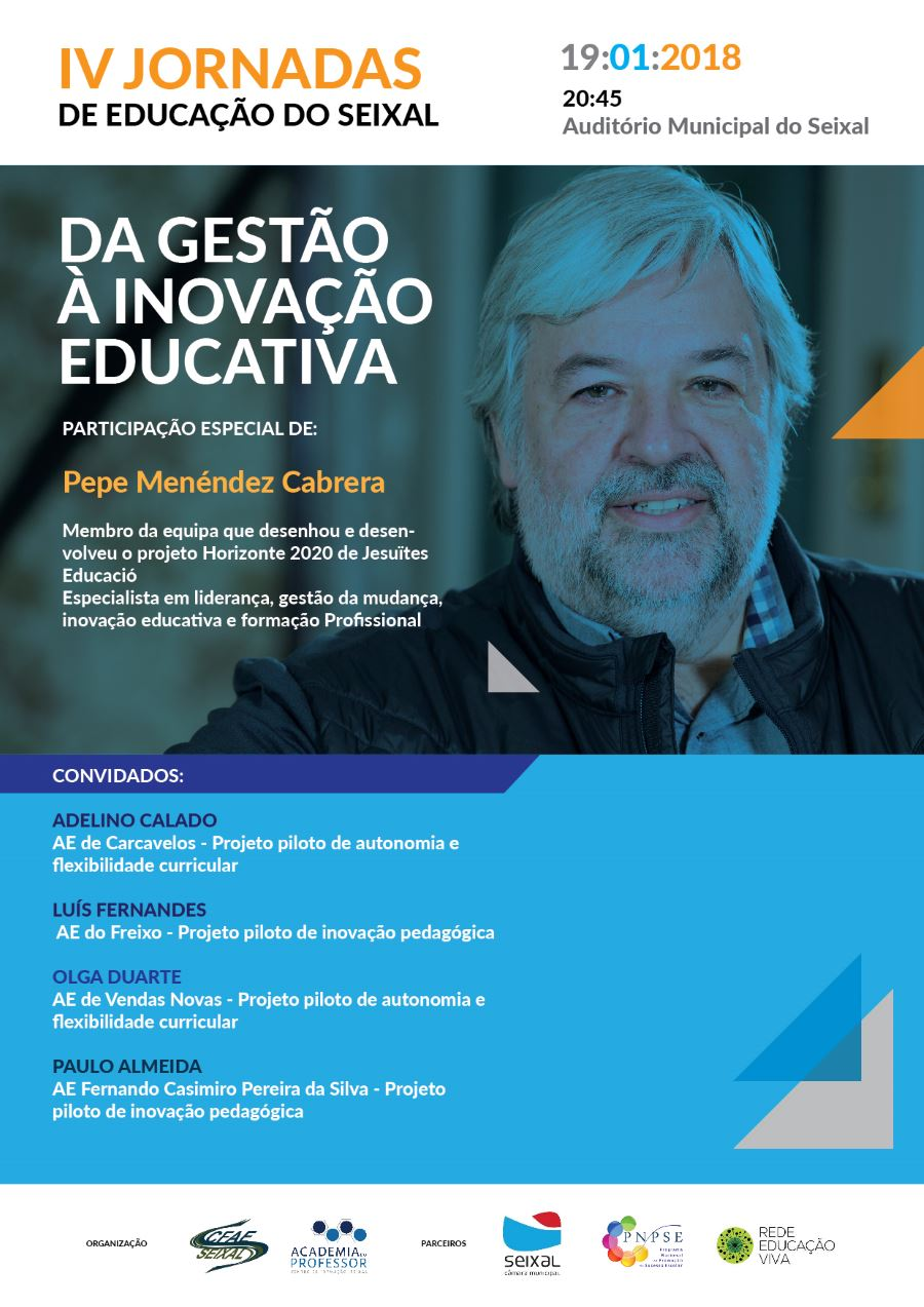 cartaz gestao e inovacao educativa